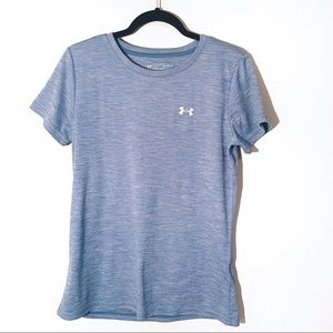 Under Armor Loose Heat Gear Mens Crew Tee